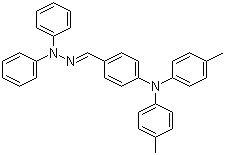 Structure of 4-Bis(4-methylphenyl)aminobenzaldehyde-1,1-diphenyl-hydrazone CAS 83992-95-4
