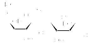 Structure of Sucralose CAS 56038-13-2