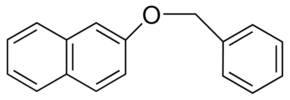 structure of 2 Phenylmethoxy naphthalene CAS 613 62 7 - BON CAS 613-62-7