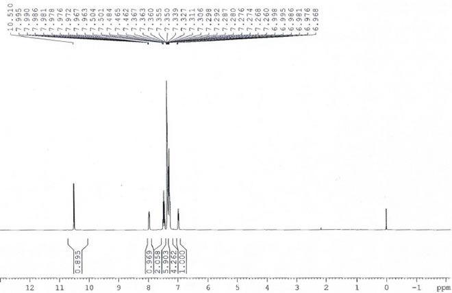 2 Diphenylphosphinobenzaldehyde CAS 50777 76 9 HNMR - 2-Diphenylphosphinobenzaldehyde CAS 50777-76-9