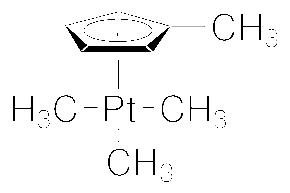 Structure of (Trimethyl)methylcyclopentadienylplatinum(IV) CAS 94442-22-5
