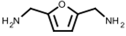 structure of 25 bisaminomethylfuran CAS 2213 51 6 - 2,5-bis(aminomethyl)furan CAS 2213-51-6