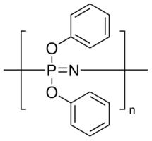 structure of POLYBISPHENOXYPHOSPHAZENE CAS 28212 48 8 - POLY(BIS(PHENOXY)PHOSPHAZENE) CAS 28212-48-8