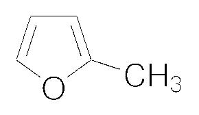 Structure of 2-Methylfuran CAS 534-22-5