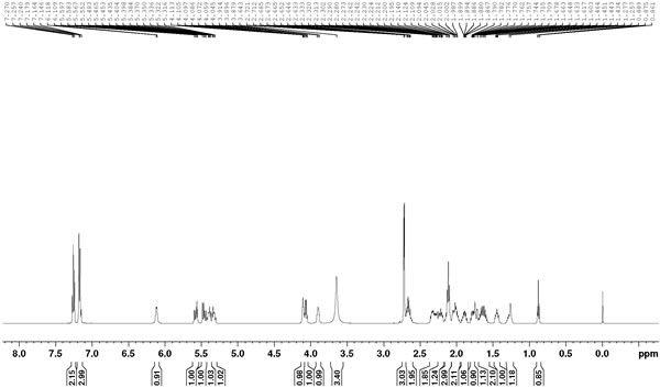 HNMR of Methylamido Dihydro Noralfaprostal CAS 155206-01-2