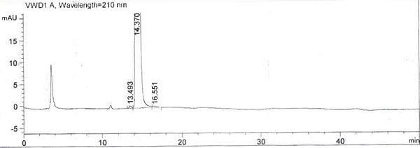 HPLC of Methylamido Dihydro Noralfaprostal CAS 155206-01-2