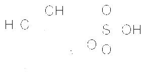 Structure of DL-Camphor suIfonic acid CAS 5872-08-2